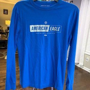 Blue American Eagle Shirt Size XS